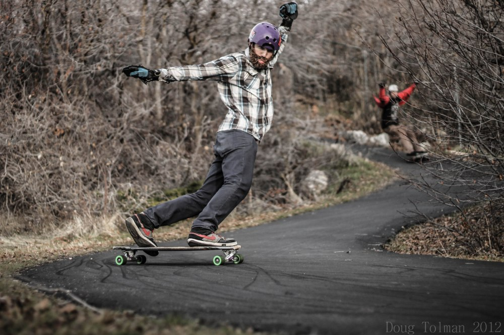 Avery Hadlock throwing a toeside